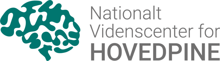 Nationalt Videnscenter for Hovedpine logo design